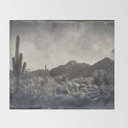 McDowell Mountains, Arizona Throw Blanket