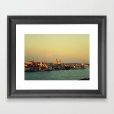 postcard from Venice Framed Art Print