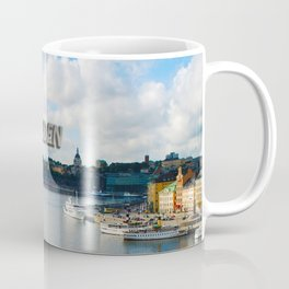 Stockholm Sweden Waterfront Travel Coffee Mug