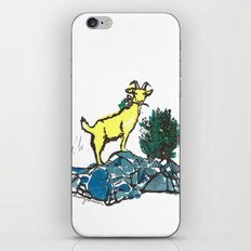 Goatie McGoatersons (colored version) iPhone Skin