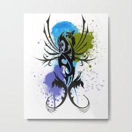 Tattoo Metal Print