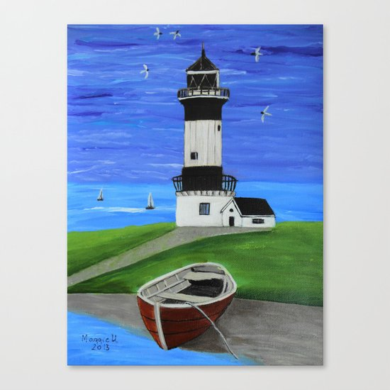 Lighthouse 4 Canvas Print