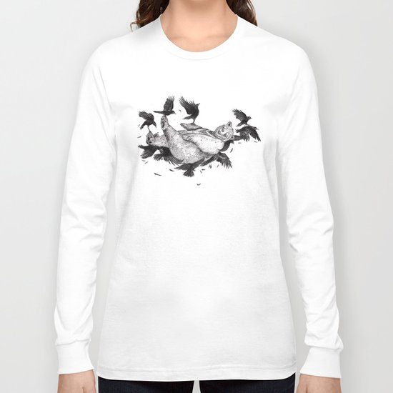 In Dreams Graphite Long Sleeve T-shirt