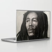 marley Laptop & iPad Skins featuring Marley Drawing by Wega13Art