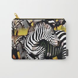 ZEBRA:  GO YOUR OWN WAY Carry-All Pouch
