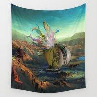 archan nair Wall Tapestries featuring Dua:Talum by Archan Nair