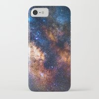 milky way iPhone & iPod Cases featuring Milky Way by Zavu