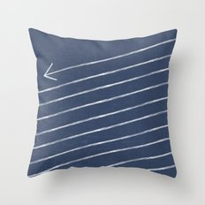 The Longest Arrow Throw Pillow