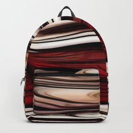 Polished Wood Backpack