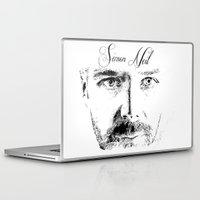 neil gaiman Laptop & iPad Skins featuring Simon Neil - Biffy Clyro  by McFREE