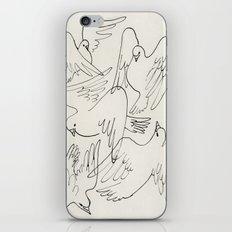 Doves flying iPhone Skin