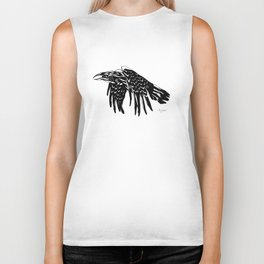Crying Crow Biker Tank