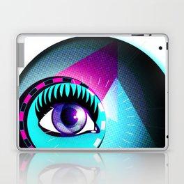 Halftone Eyeball Laptop & iPad Skin