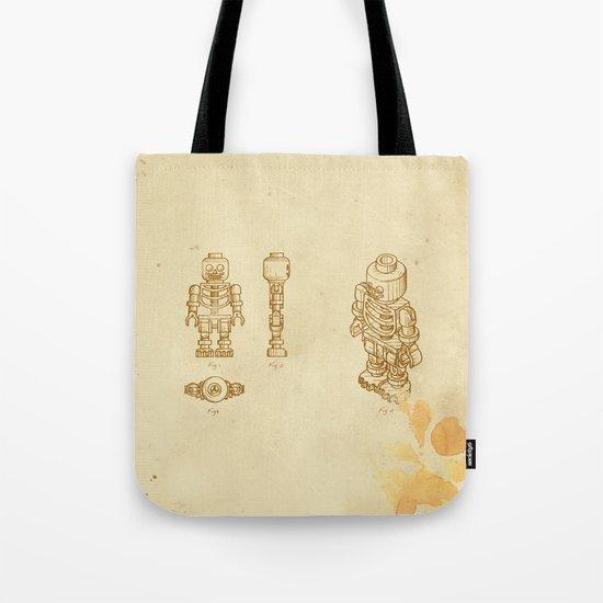 Lego Skeleton Tote Bag
