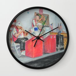 The Clefs Wall Clock