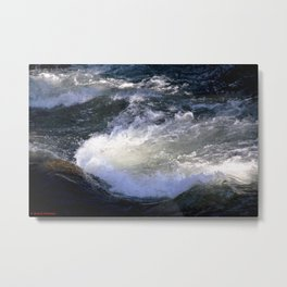 Morning Sun on the Rapids of Vallecito Creek, No. 2 of 2 Metal Print