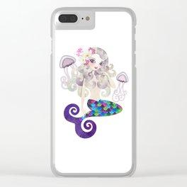 Amethyste Mermaid Clear iPhone Case