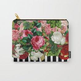Censored Flowers Carry-All Pouch