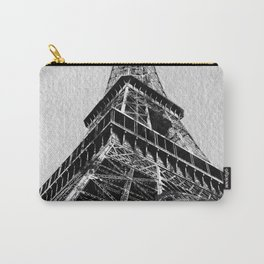 The Eiffel Tower, Paris BW Carry-All Pouch