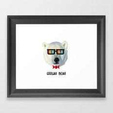 coolar bear Framed Art Print