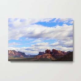 Cathedral Rock BIG SKY in Arizona by Reay of Light Metal Print