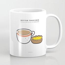 Better Together: Milk tea and Egg tart Coffee Mug