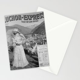 old ORLEANS MIDI Luchon Express poster vintage Poster Stationery Cards