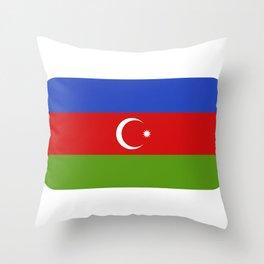 Azerbaijan flag Throw Pillow