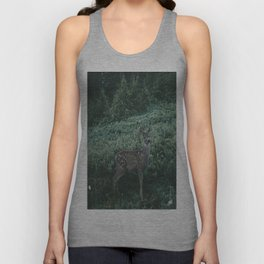 Deer II Unisex Tank Top