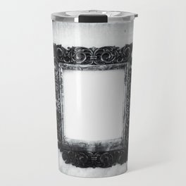 | a frame of nothing - or the mirroring of unborn thoughts | Travel Mug