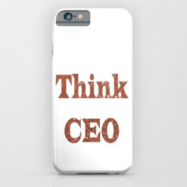 ThinkCEO iPhone Case