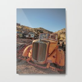 Jerome Arizona Old Trucks Metal Print