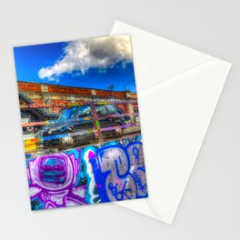 Leake Street and London Taxi Stationery Cards