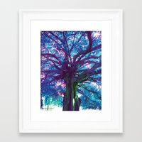 arya Framed Art Prints featuring Arya - The Tree of Life by earthspiritartdesign