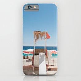 A Day at the Beach - Kaputaş Plajı, Turkey iPhone Case
