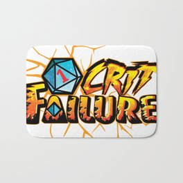 Crit failure Bath Mat