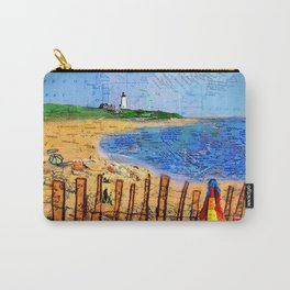 Summer down the Cape Carry-All Pouch