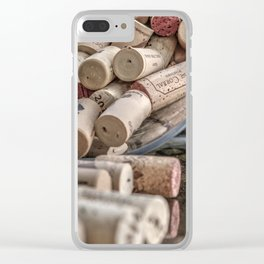 Corks Clear iPhone Case