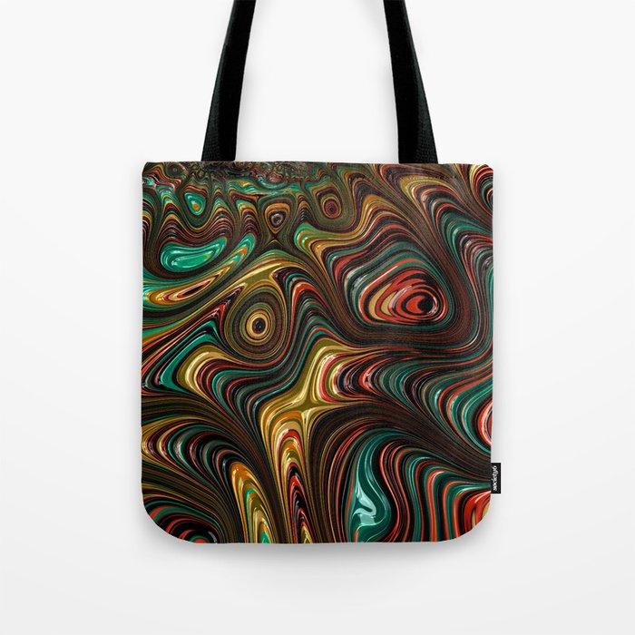 Trippy Fractal Tote Bag