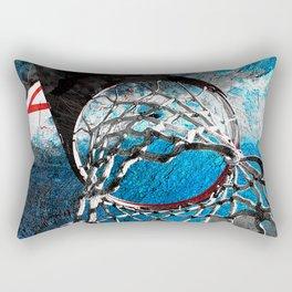 Contemporary Basketball art cx 4 Rectangular Pillow