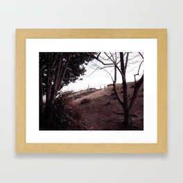 Osaka Park, Japan Framed Art Print
