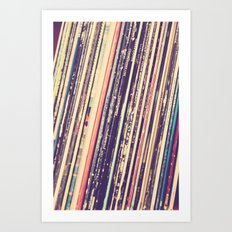 Music Is Love Art Print