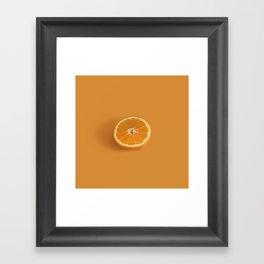 Oranggggee Framed Art Print