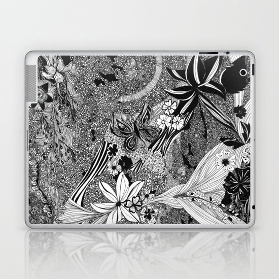 Jungle of Mind Laptop & iPad Skin