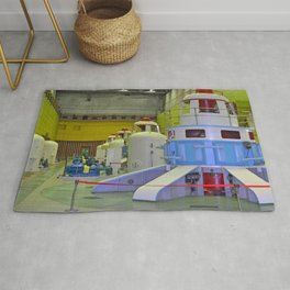 machine room HPP Rug