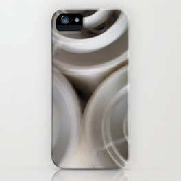 vintage blurry luminaries iPhone Case