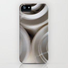 vintage blurry luminaries iPhone Case