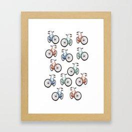 Vintage Cycling Framed Art Print