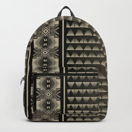 Buffalo Running (Gray) Backpack