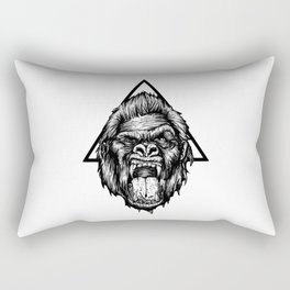 Angry Kong Rectangular Pillow